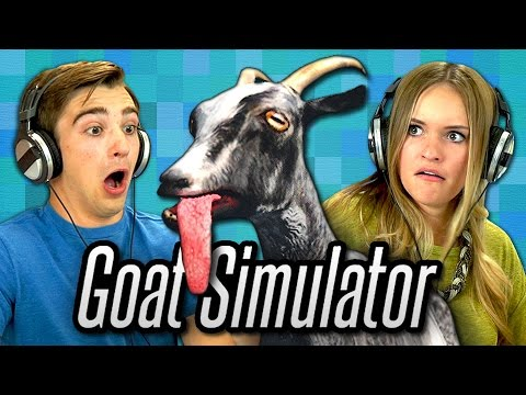 Channel - SUBSCRIBE to the All New REACT Channel: http://goo.gl/47iJqh Watch all episodes of GAMING: http://goo.gl/TVhuol All REACT channel videos from this week: http://goo.gl/th0yyt Play Goat Simulator:...