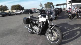 9. 748982 - 2016 Triumph Bonneville T120 - Used motorcycle for sale