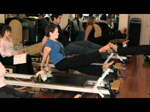 Stott Pilates Advanced Reformer Training at Pilates 1901