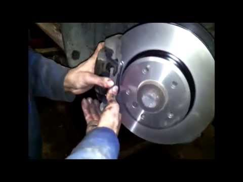 BMW 3 DIY e46 320d 2.0d 150hp replacement front TRW brakes and support (тормоза, bremzes, bremsen)