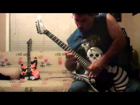 ESP George Lynch Play to Mr. Scary Contest Entry By Dave Russo