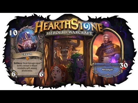 Hearthstone Колода: Темпо Маг - К'тун