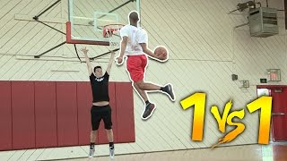 1 V 1 VS MOST ATHLETIC HIGHSCHOOL PLAYER #1 SG CASSIUS STANLEY