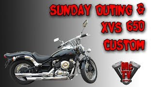 6. Sunday on an xvs650 custom