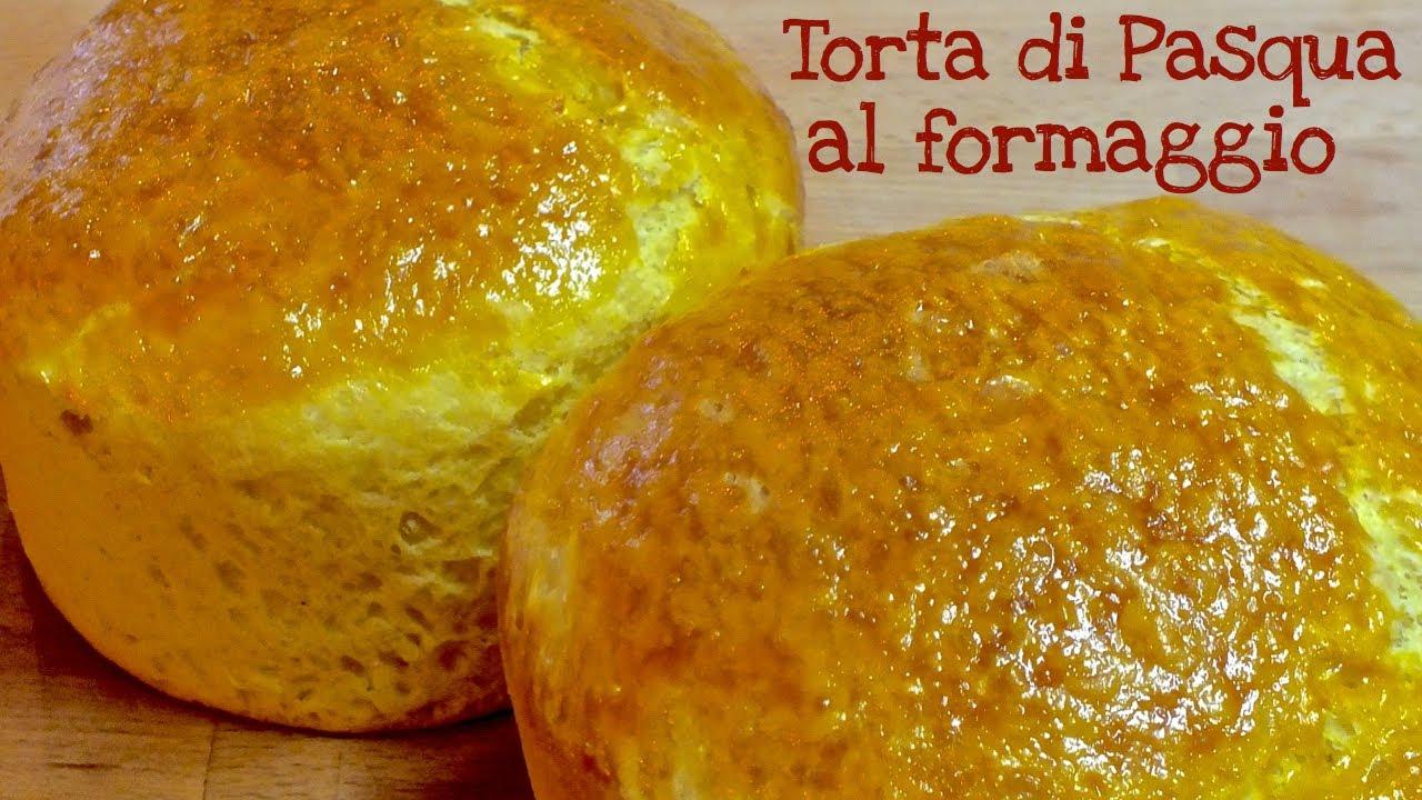 TORTA di PASQUA al FORMAGGIO (Ricetta Pasquale Marchigiana) ♥ VIDEORICETTA