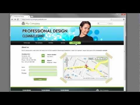 Create a website with WebSite X5 v10 - Video Tutorial