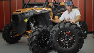 9. ITP Cryptid Mud Tires Mounted on Storm Series Tornado Wheels