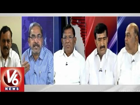 Good Morning Telangana  V6 special discussion on daily news  Nov 19th 2014