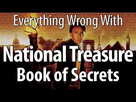 Everything Wrong With National Treasure Book Of Secrets