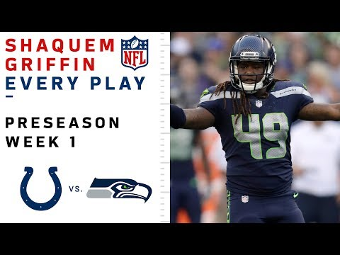 Every Shaquem Griffin Tackle vs. Colts