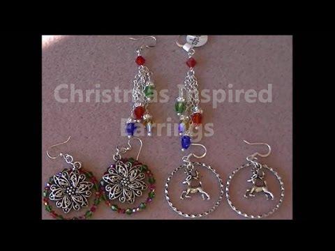 Christmas Trio Earrings