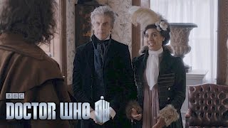 Programme website: http://bbc.in/1UFcb1w Peter Capaldi and Steven Moffat discuss that punch, and the Third Doctor visits a fish and chip shop?