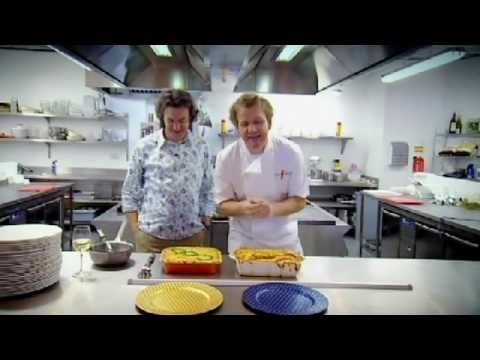 James May and Gordon Ramsay had a fish pie challenge. This was the result.