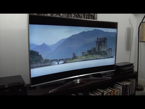 Samsung UE65JS9500 (JS9500) SUHD 4k 2015 TV Demo Review