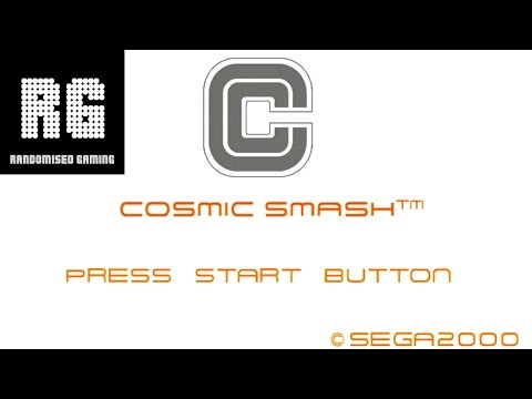 Cosmic Smash Dreamcast