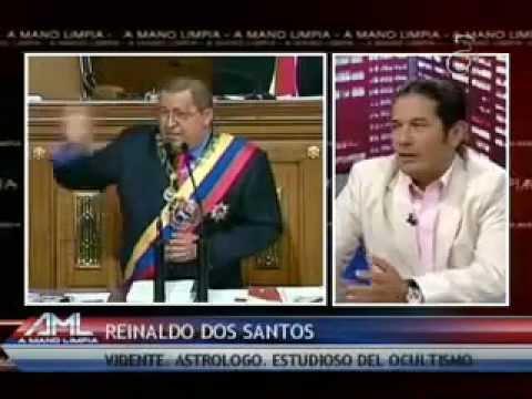 Reinaldo Dos Santos - Profecías Abril del 2012 en Miami - Elecciones Venezuela, Chávez y Fidel.wmv