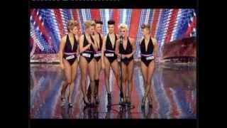 BRITAIN'S GOT TALENT AMAZING GIRLS SEXY DANCE NEW 2014