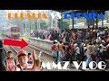 Gokil Hampir Ketabrak Kereta  Vlog Persija Vs Persiba Liga 1 2017
