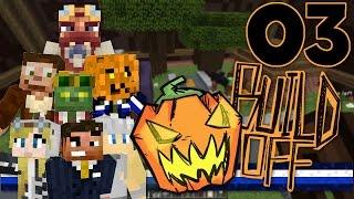 Minecraft: Halloween Build-off! (Ep.3): Trick or Treat!