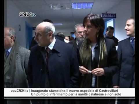 Inaugurato stamattina il nuovo ospedale di Castrovillari