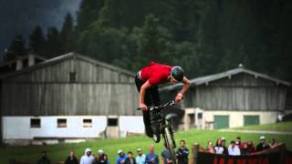 Leogang Austria  city photos gallery : Mountain bike slopestyle in slow motion - 26TRIX in Leogang Austria 2014