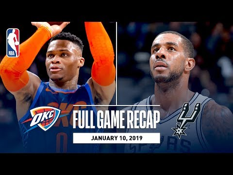 Video: Full Game Recap: Thunder vs Spurs | Double Overtime Thriller