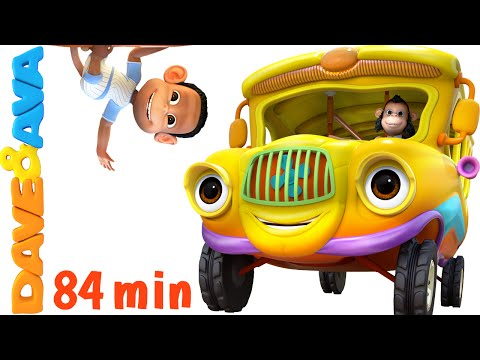 Wheels On The Bus | Nursery Rhymes Collection | YouTube Nursery Rhymes From Dave And Ava