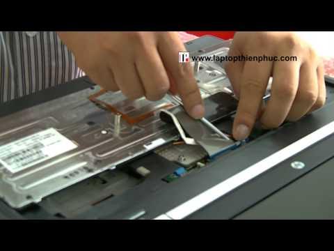 Hướng dẫn vệ sinh tháo lắp Hp Elitebook 8560w Phần 2
