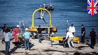 燃料いらずの無人調査船で海洋データ収集することで話題に