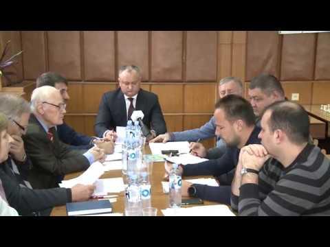 Игорь Додон провел заседание Президиума Федерации Шахмат Молдовы