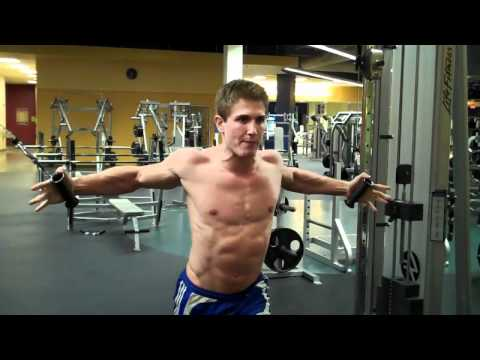 How To: High Cable Chest Fly