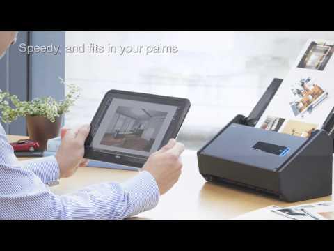 Geschwindigkeit pur: Der neue Dokumentenscanner Fujitsu ScanSnap iX500
