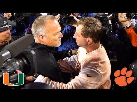 Miami vs. Clemson 2017 ACC Football Championship Full Game (видео)