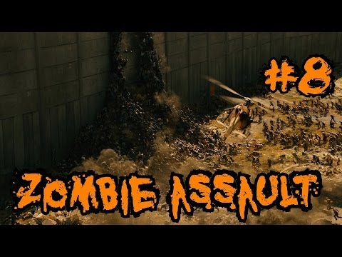 Custom Zombies – Zombie Assault: One Teammate Out and an Epic Revive (Part 8)