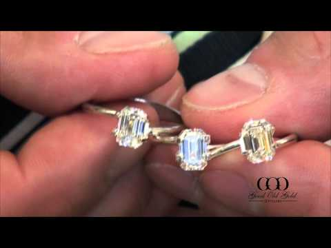 Emerald Cut Diamond Comparison