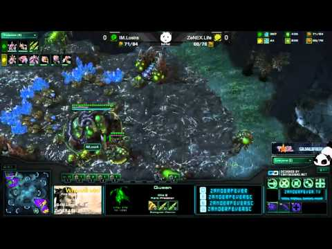 zenex - IM.Losira v ZeNEX.Life Zerg v Zerg on TSL4 Entombed Valley Quarterfinals Best of 3 Part of the TSL 4 Qualifier #3 For the Korean Server Visit teamliquid.net ...