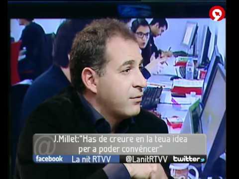 """Entrevista a José Millet, director del Instituto IDEAS en """"La nit"""" de Canal Nou"""
