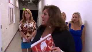 Dance Moms Christi and Abby fighting at Nationals