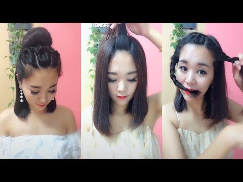 Short hair styles - TOP 15 Amazing Hair Transformations  Beautiful Hairstyles Compilation 2019  Part 7