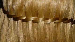 прически на длинные волосы гофре водопад