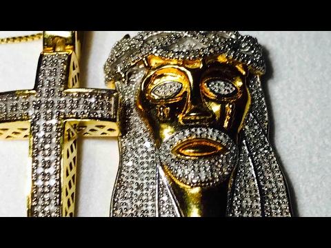 REAL DIAMOND 💎 JESUS PENDANT REVIEW