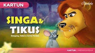 Video Singa dan Tikus | Kartun Anak - Dongeng Bahasa Indonesia MP3, 3GP, MP4, WEBM, AVI, FLV September 2018