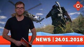 Ghost Recon Wildlands bekommt Lootboxen; Xbox Game Pass wird interessanter! | GW-NEWS