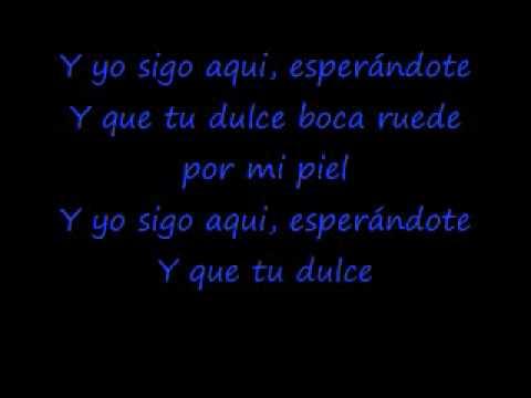 lo hare por ti paulina rubio lyrics: