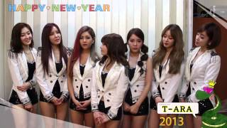 T-ARA 2013새해인사!! Happy New Year~