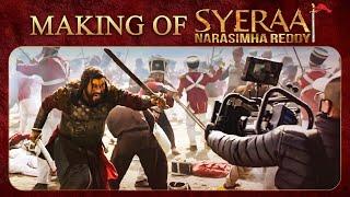 Making of Sye Raa Narasimha Reddy - Chiranjeevi, Amitabh Bachchan   Ram Charan   Surender Reddy