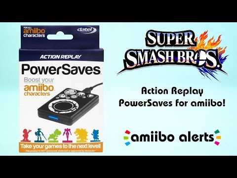 Datel Amiibo Action Replay Powersaves