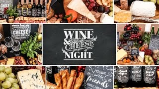Wine & Cheese Party | Holiday Entertaining Ideas by The Domestic Geek