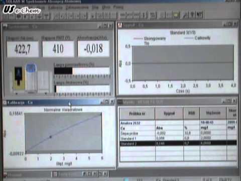 Chemie. Atomabsorptionsspektrometrie (AAS)