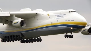 Video Antonov An-225 Mriya | Landing + Takeoff at Leipzig/Halle Airport | Ан-225 Мрия MP3, 3GP, MP4, WEBM, AVI, FLV Maret 2019
